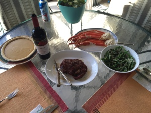 Surf and Turf Thanksgiving 2015